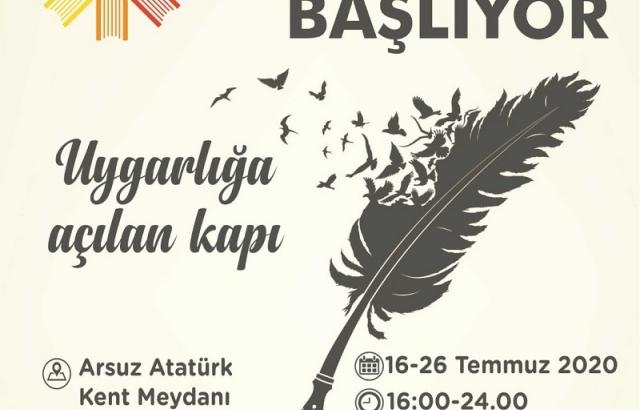 """1.  ARSUZ KİTAP GÜNLERİ"""" DEVAM EDİYOR"""