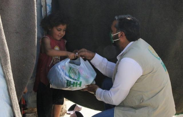 1.712 aileye hijyen malzemesi yardımı yapıldı