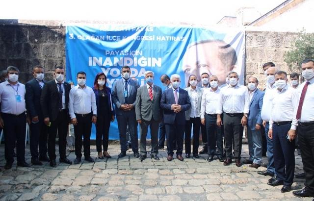 AK Parti Payas ve Arsuz ilçe kongreleri yapıldı