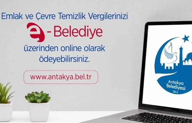 Antakya Belediyesi'nden E-Belediye çağrısı