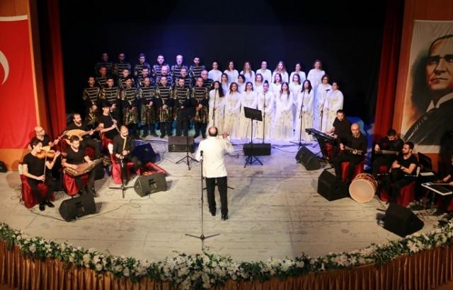 Antakya Medeniyetler Korosu  konserlere yeniden başladı