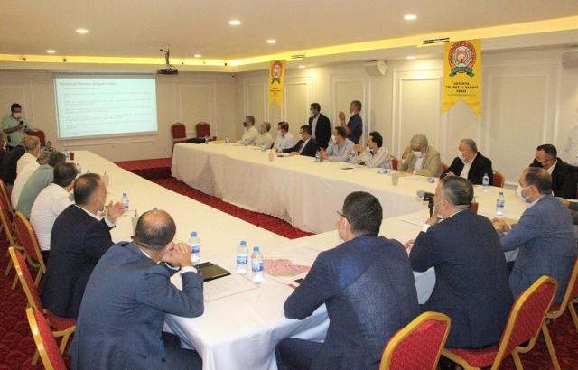 ATSO'dan Enek İhtisas Organize Sanayi Bölgesi toplantısı