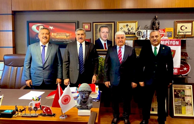 Başkan Karataş'tan TBMM Ziyareti