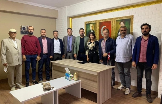 CHP DEFNE'DEN İYİ PARTİ'YE ZİYARET