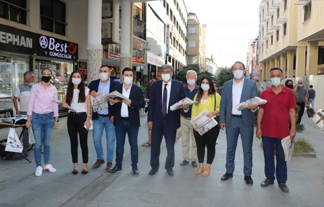 CHP HEYETİ'NDEN ANLAMLI HAREKET
