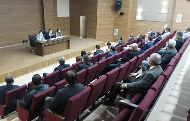 Covid-19 tedbirleri bilgilendirme toplantısı yapıldı