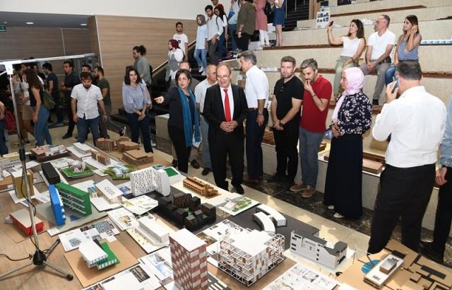 Deneysel Ekolojik Mimarlık Dijital Tasarım Sergisi açıldı