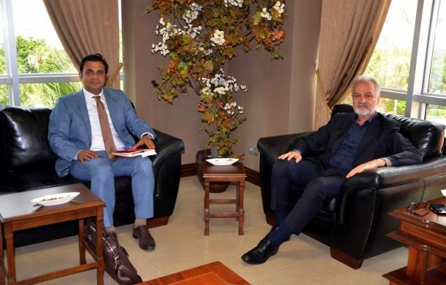 DOĞAKA Genel Sekreteri Onur Yıldız İTSO'yu Ziyaret etti