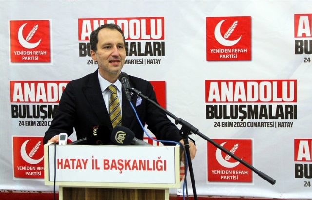 Fatih Erbakan, Hatay'da konuştu