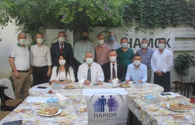 HAMOK'ta devir teslim töreni yapıldı