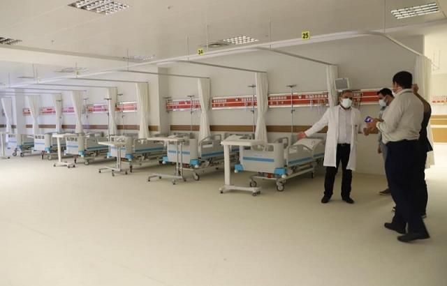 Hastanede korona hazırlığı sürüyor