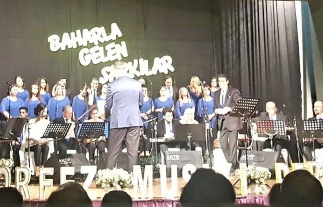 İskenderun'da unutulmaz bahar konseri