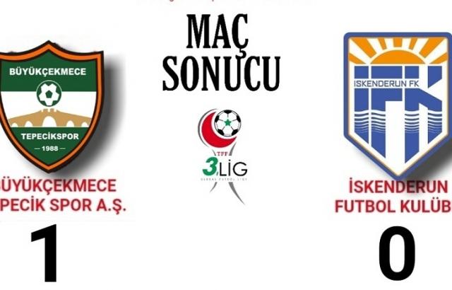 İskenderunspor FK liderliği kaybetti