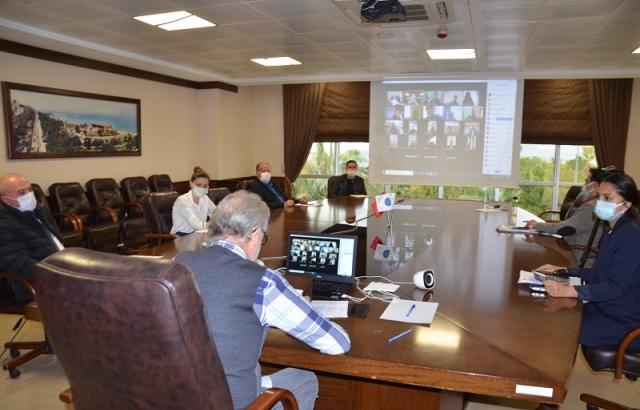 İTSO'da tedbirli videokonferans
