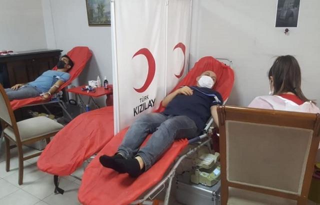 Kan bağış kampanyası ilgi gördü