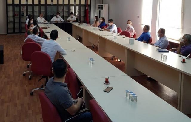 Komisyon toplantısı yapıldı