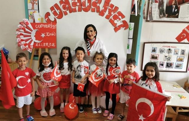 Latife Hanım Anaokulunda Cumhuriyet Bayramı Coşkusu