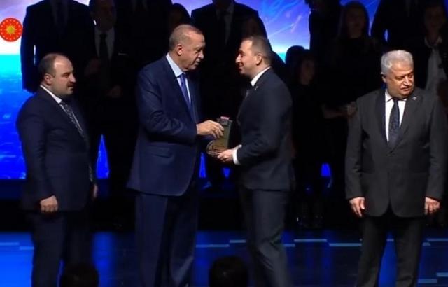 Mehmet Lütfi Yola, TÜBA GEBİP ödülünü Aldı