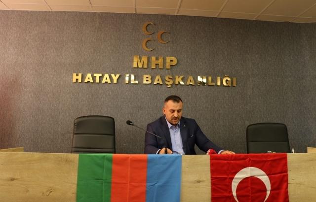 MHP'DEN AZERBAYCAN'A DESTEK