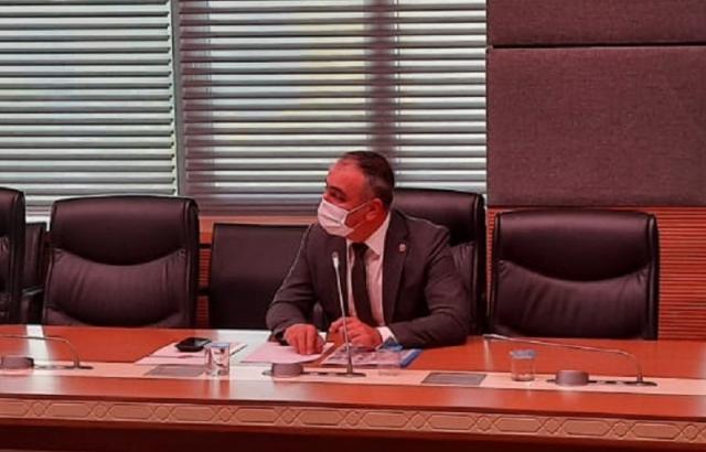 Milletvekili Lütfi Kaşıkçı deprem komisyonunda