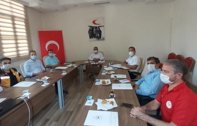 Müdür Hambolat, kurum içi toplantı gerçekleştirdi
