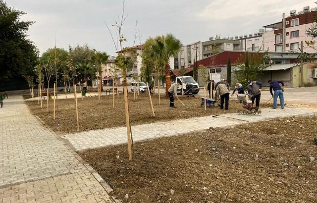 Park Yapım Çalışması Devam Ediyor