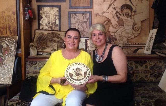 Perran Kutman'dan Gülbol'a sürpriz ziyaret