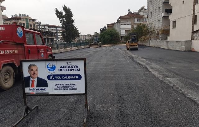 Saraykent Mahallesi yeni pazar yeri asfaltlandı