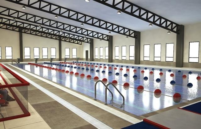 Saraykent'e olimpik yüzme havuzu