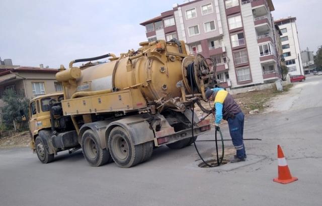 Temizlik çalışmaları ile kötü kokular önleniyor