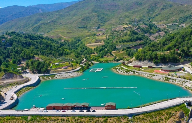 Terörden arındırılan Amanosların eteğindeki gölette su sporları yapılacak