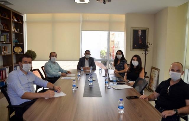 TOBB Hatay Genç Girişimciler Kurulu Ekim Ayı  Toplantısını İTSO'da Yaptı