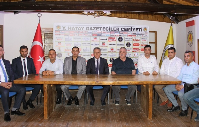 TÜM-İŞ KONFEDERASYONU'NDAN HGC'YE ZİYARET