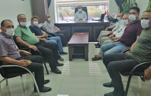 Türk Eğitim-Sen'den Müdür Gülistan'a ziyaret