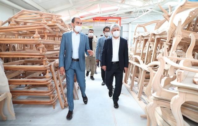 Vali Doğan, Antakya Mobilyacılar İhtisas Sanayi Sitesi'ni ziyaret etti