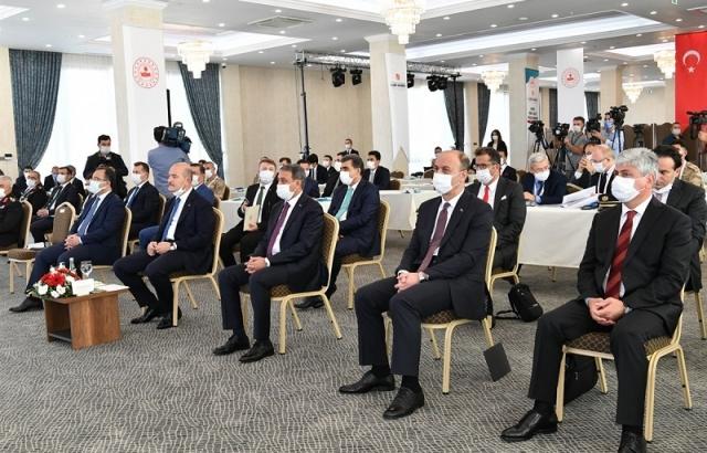 Vali Doğan Suriye Görev Gücü Değerlendirme Çalıştayı'na Katıldı