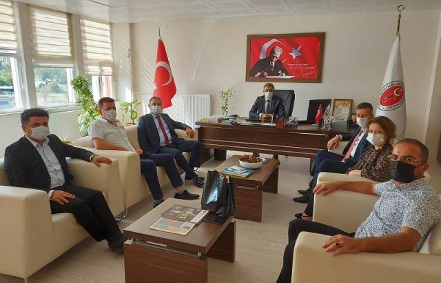 Yahya Hamurcudan, Dekan Karaca'ya ziyaret