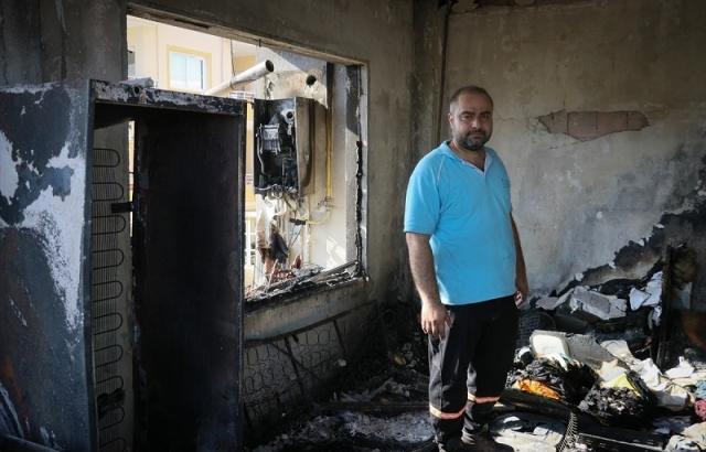 Yangından etkilenen vatandaşlar yaşadıklarını anlattı