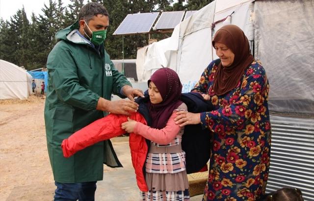 2020'de Suriye'de 1 milyon 250 bin kişiye yardım ulaştı