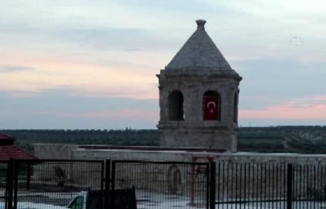 Afrin'deki Camii ve Nebi Huri Türbesi restore edildi