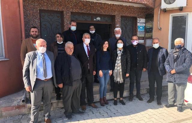 AK Parti'den nakliyeciler kooperatifine ziyaret