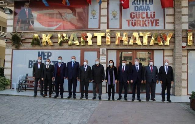 AK Partililer gündemi değerlendirdi