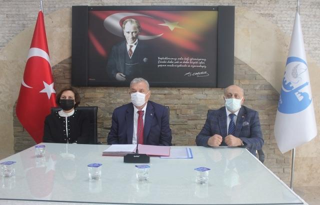 Denetim komisyonuna üye seçimi yapıldı
