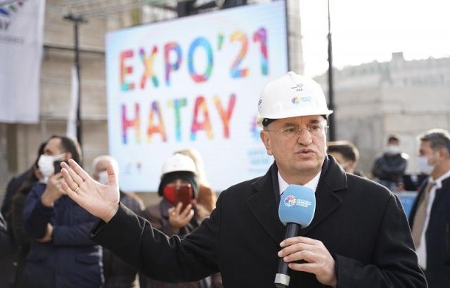 EXPO HATAY'IMIZIN VE TÜRKİYE'MİZİN PROJESİDİR