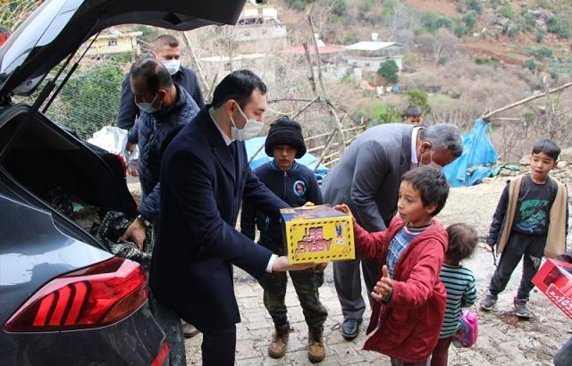 Hassa'da maddi durumu olmayan aileler tespit ediliyor