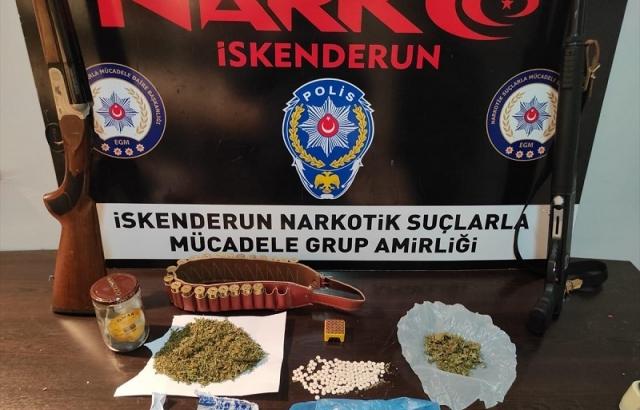 Hatay'da uyuşturucu operasyonları: 5 gözaltı