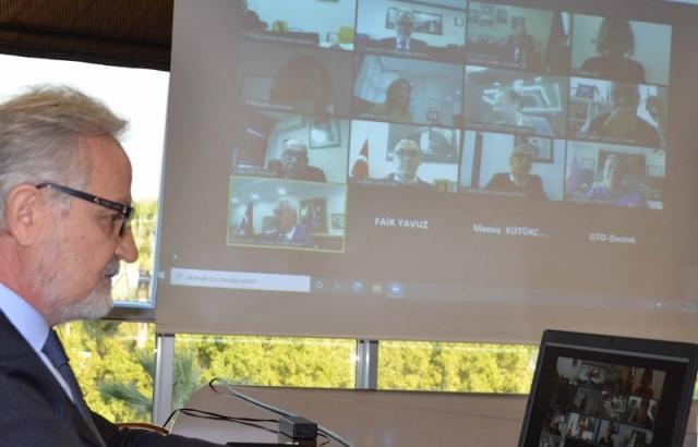 İTSO Başkanı Yılmaz, TOBB Toplantısına Katıldı
