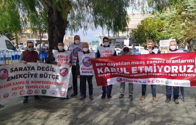 """""""MAAŞLARA EN AZ YÜZDE 30 ZAM YAPILMALIDIR"""""""