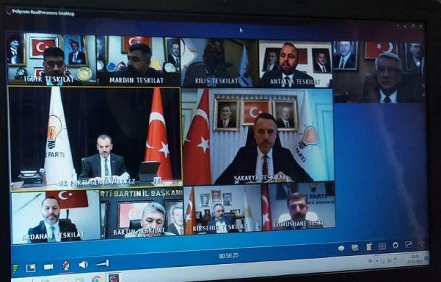 Mehmet Yeloğlu, il başkanları toplantısına katıldı