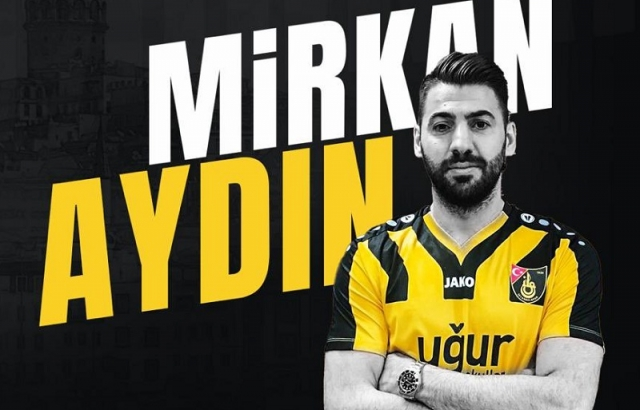 Mirkan Aydın İstanbulspor'lu oldu